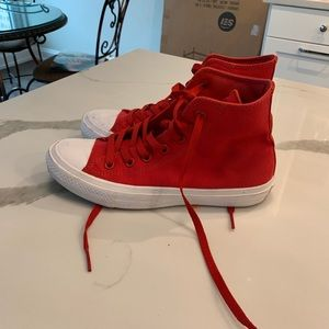 Red Converse II size 7.5